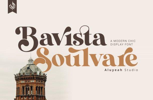Bavista Soulvare Serif Font-1