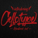 Cellotype Brush Script Font