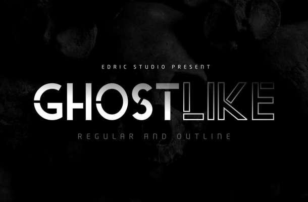 Ghostlike Sans Serif Font-1