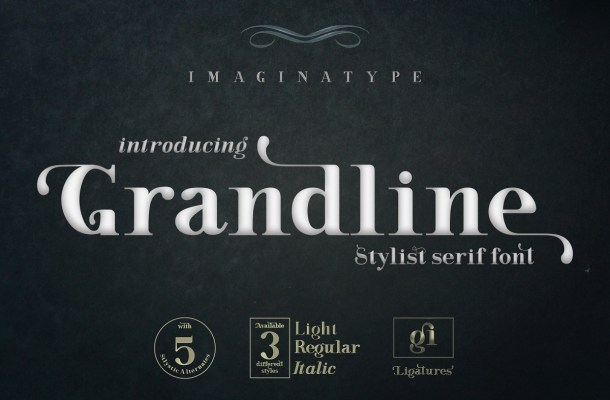 Grandline Stylist Serif Font-1