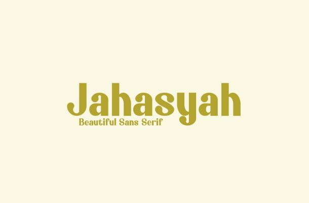 Jahasyah Sans Serif Font