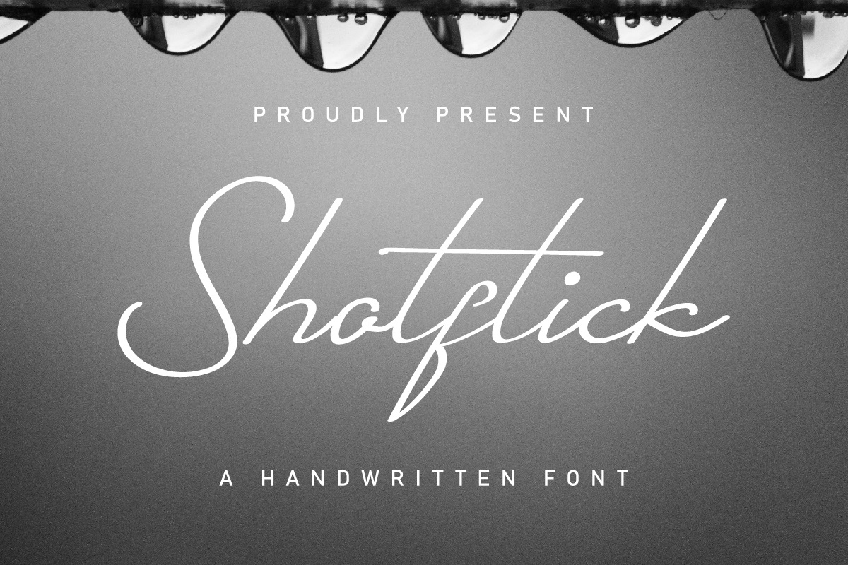 Shotflick Handwriting Script Font-1