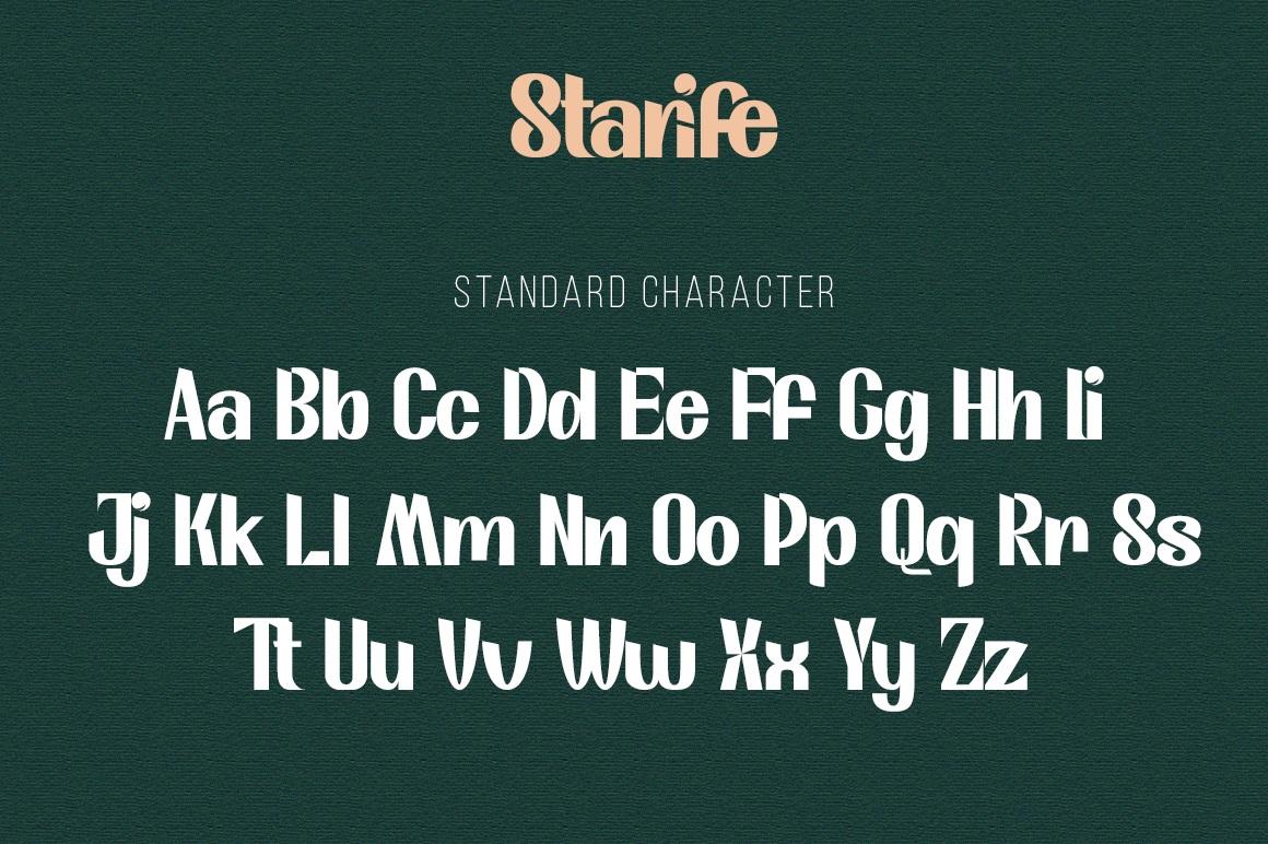 Starife Modern Display Typeface-3