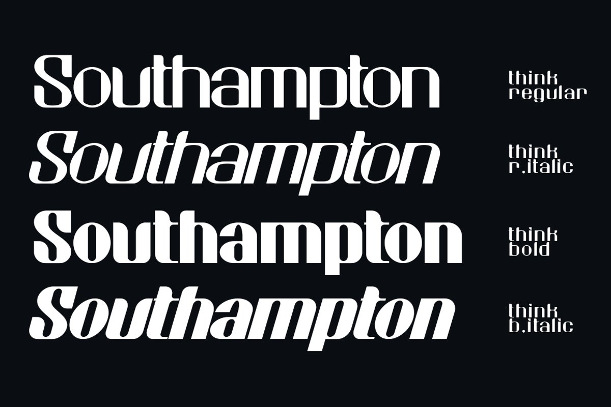 Think Sans Serif Typeface-4