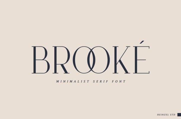 Brooke Serif Font-1