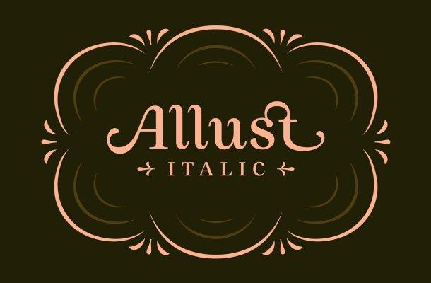 Allust Serif Typeface