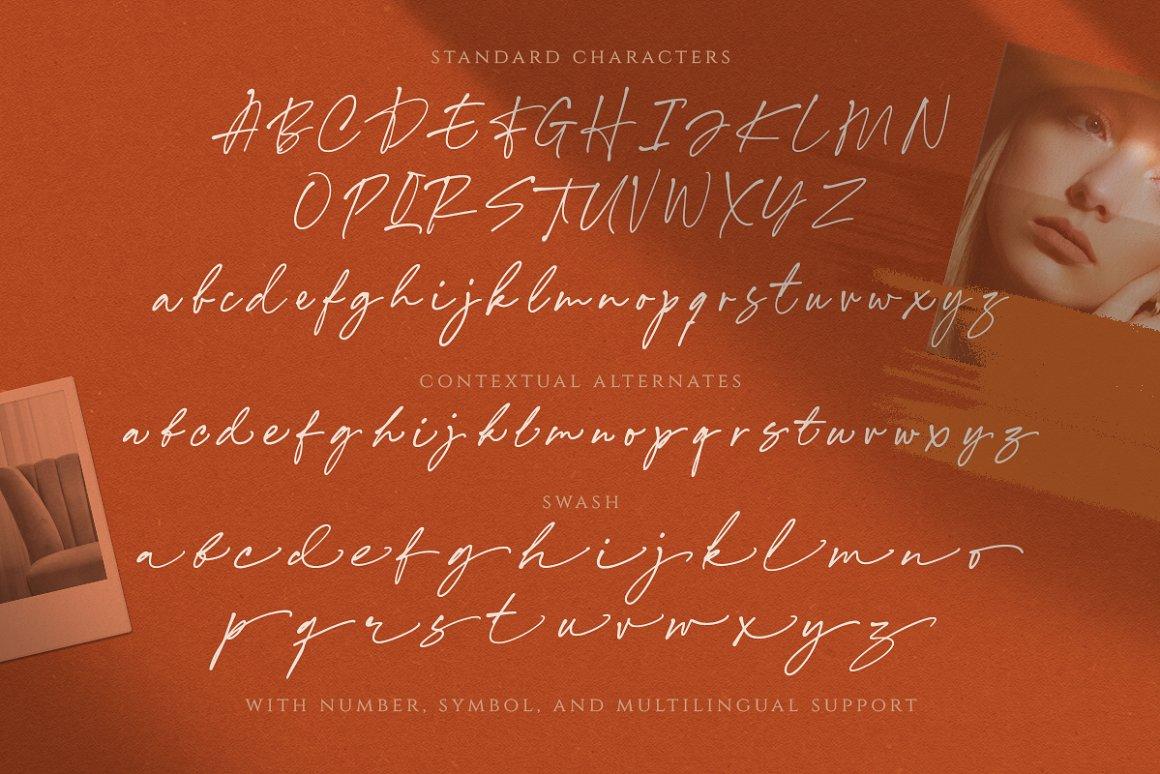 Annette Bradford Ballpoint Signature Script Font-4