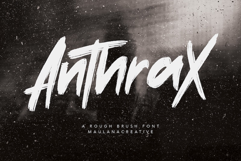 Anthrax Brush Script Font-1