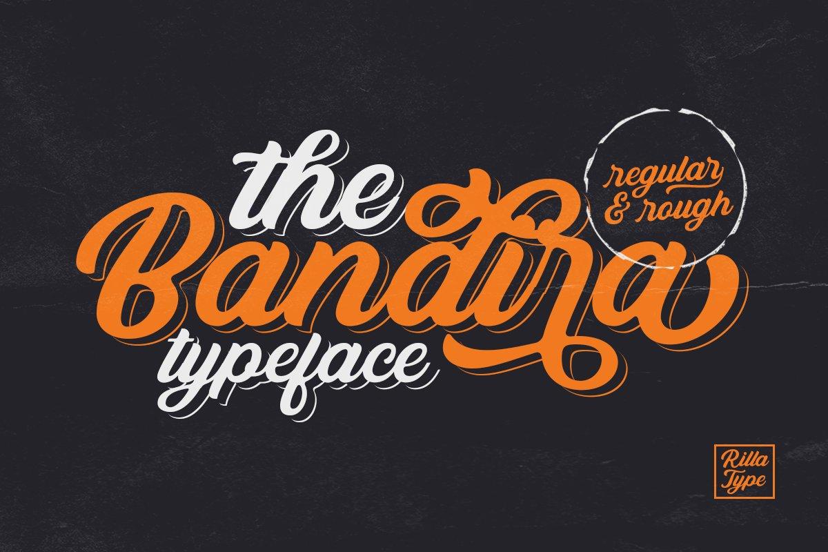 Bandira Script Typeface-1