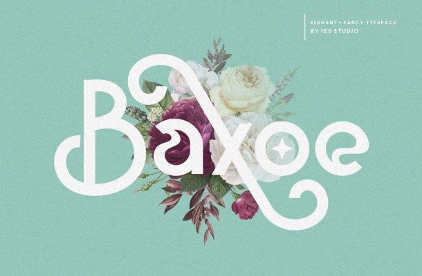 Baxoe Sans Fancy Typeface-1