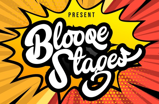 Blooqe Stages Bold Script Font