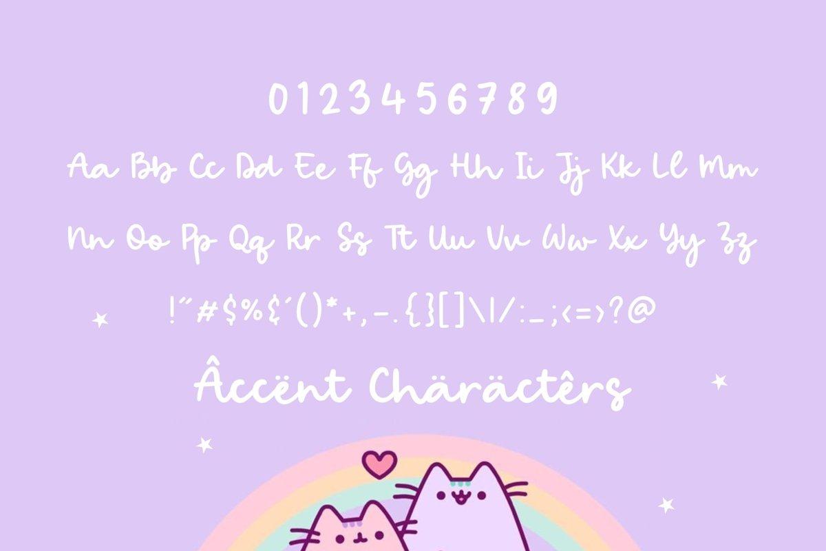 Bright Candy Bold Handwritten Font-3