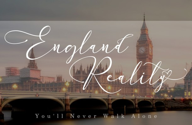 England Reality Handwritten Font