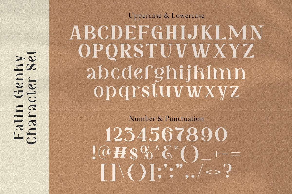 Fatin Gengky Casual Serif Font-4