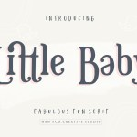 Little Baby Fun Serif Font