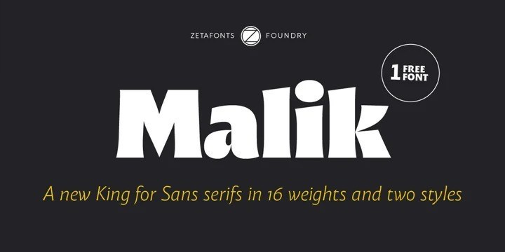 Malik Sans Serif Font-1