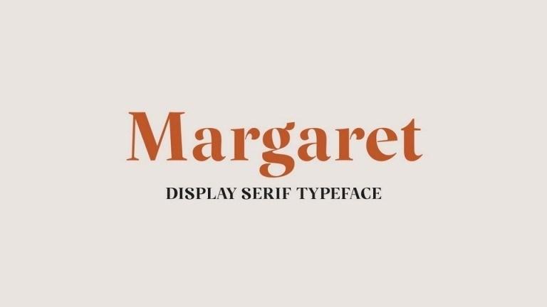 Margaret Display Serif Typeface-1