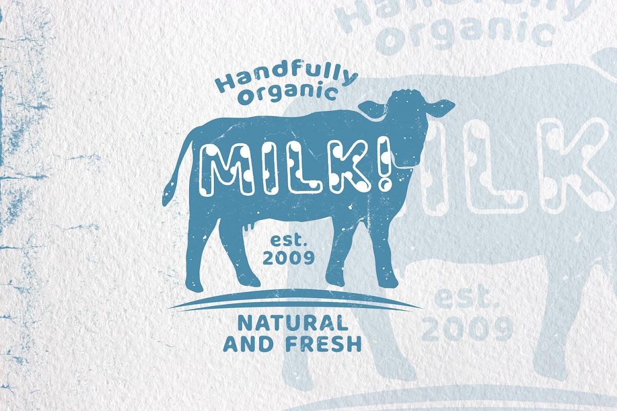 Milky Nice Display Font-2