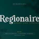 Regionaire Modern Serif Typeface