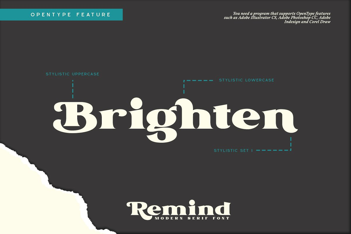 Remind Modern Serif Font-2
