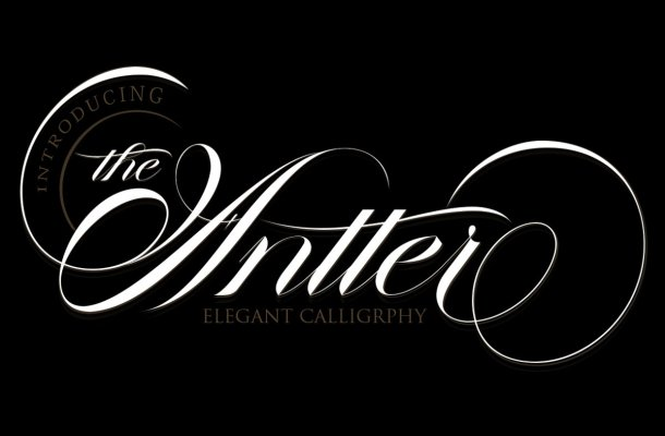 The Antter Calligraphy Script Font