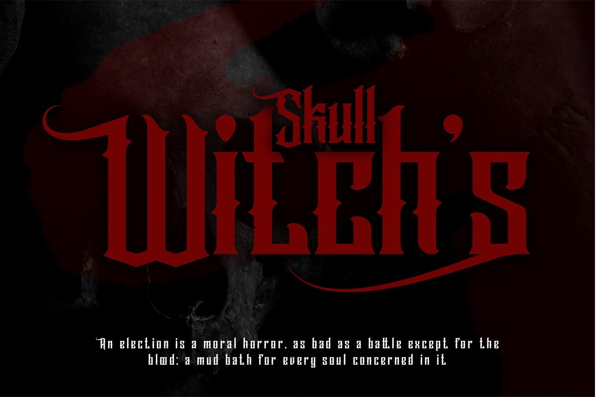 Wallrous Blackletter Tattoo Typeface-2