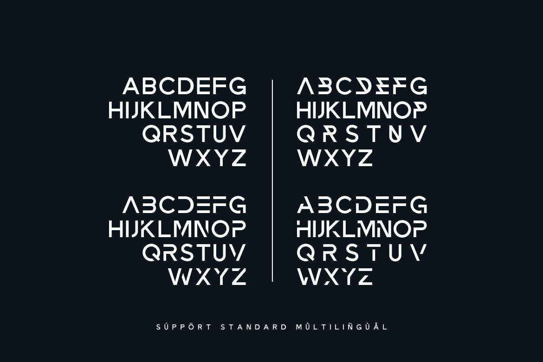 Zeniq Modern Sans Display Font-4