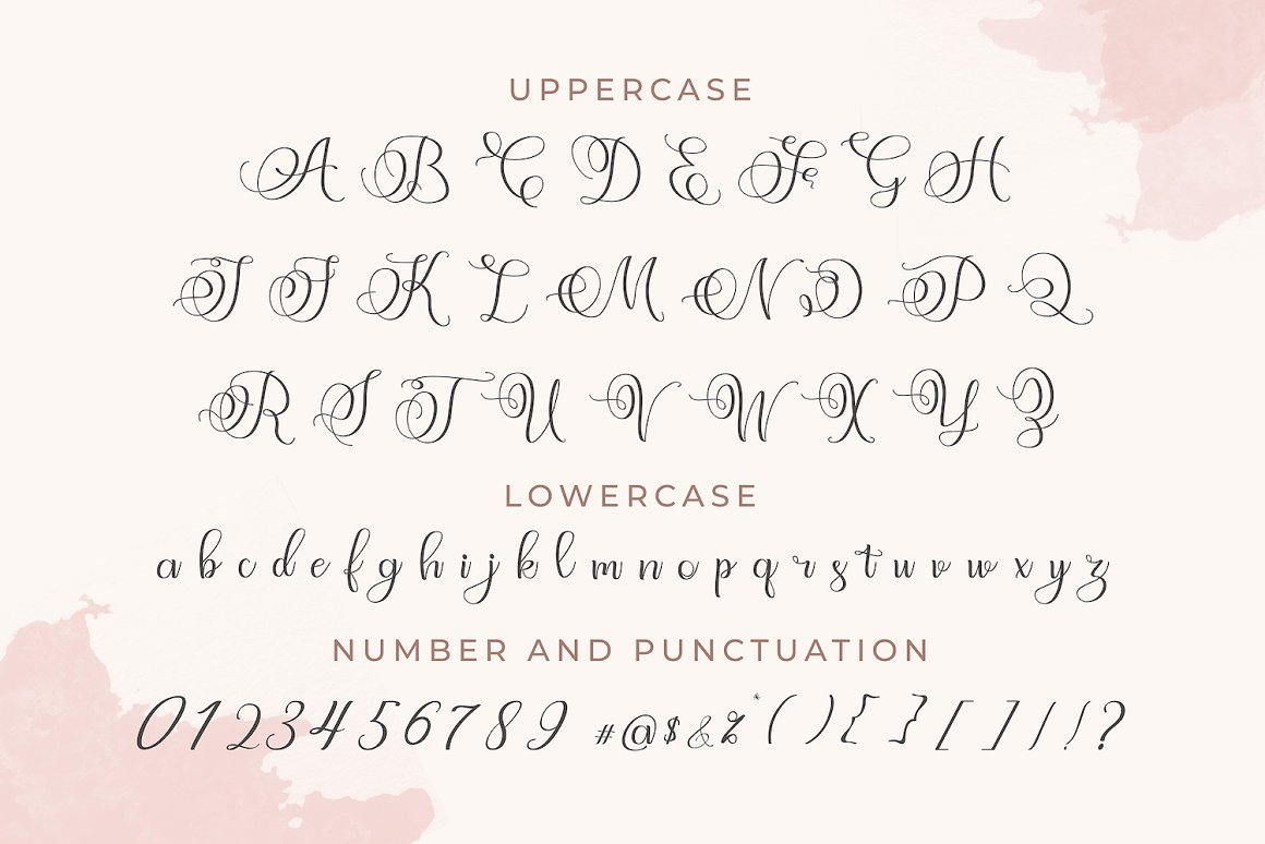 Angeliny Calligraphy Script Font-4