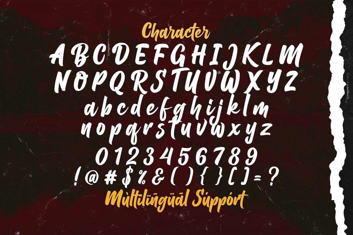 Balhgi Rizetons Bold Script Font-3