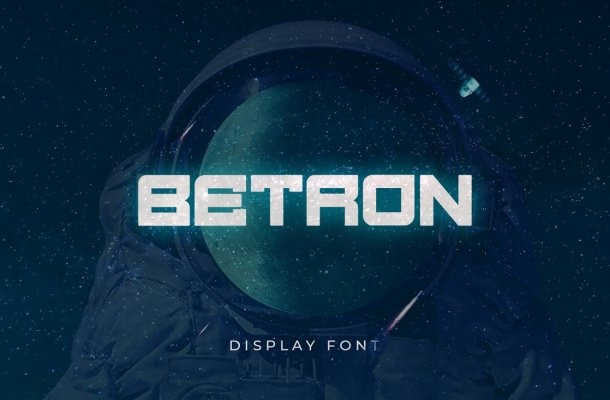 Betron Display Font-1