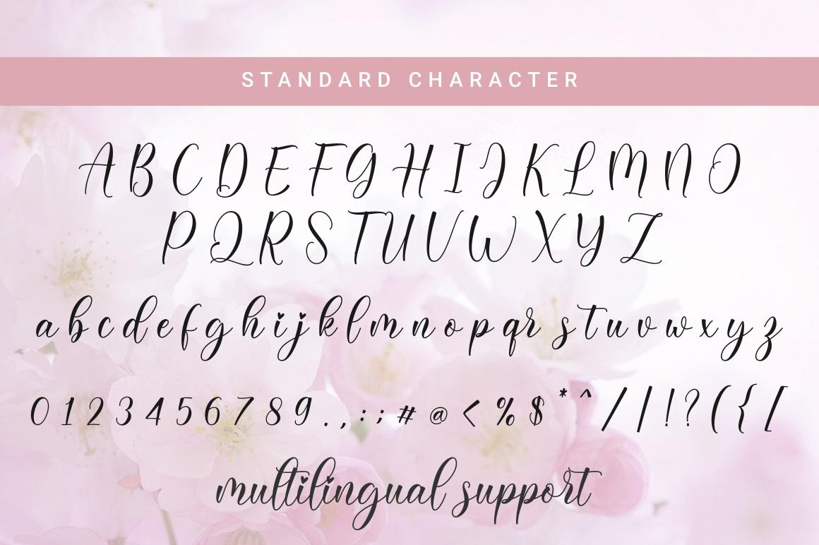 Daligona Modern Calligraphy Script Font-4