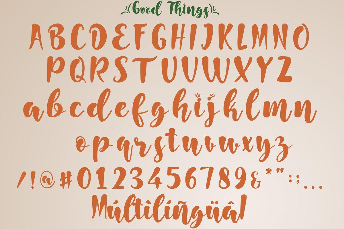 Good Things Modern Script Font-3