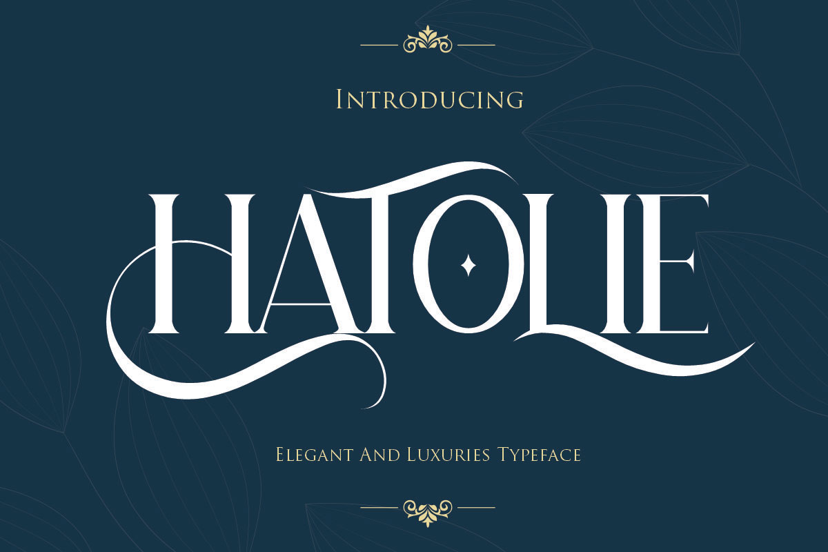 Hatolie Display Serif Typeface-1
