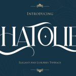 Hatolie Display Serif Typeface