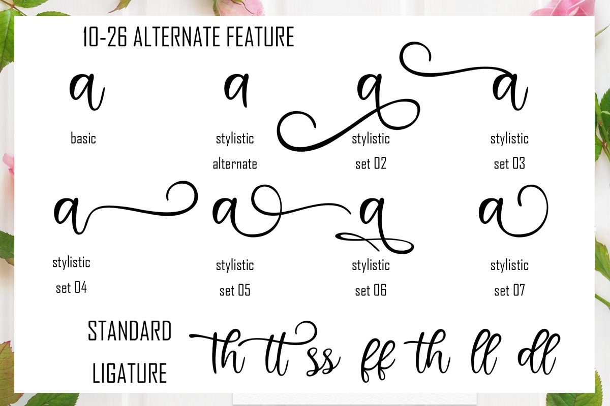 Hinatta Modern Script Font-4