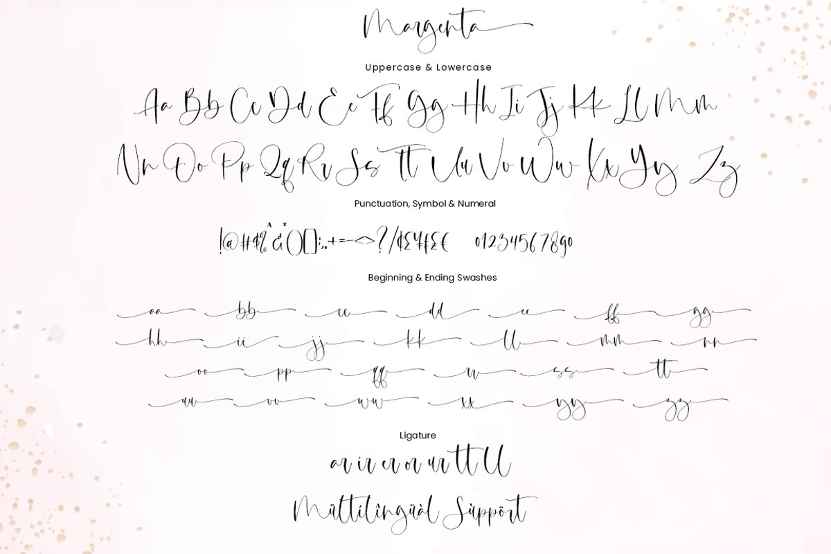 Margenta Calligraphy Script Font-4