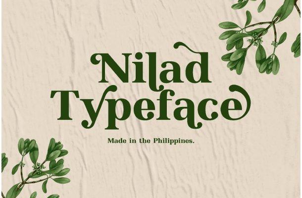 Nilad Modern Serif Typeface