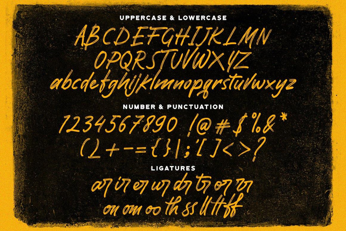 Pomthinq Brush Script Font-4