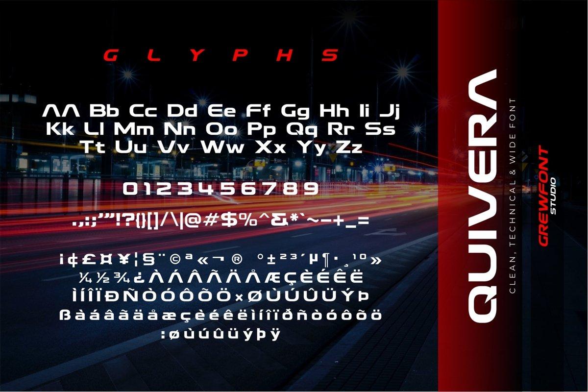 Quivera Modern Display Font-3