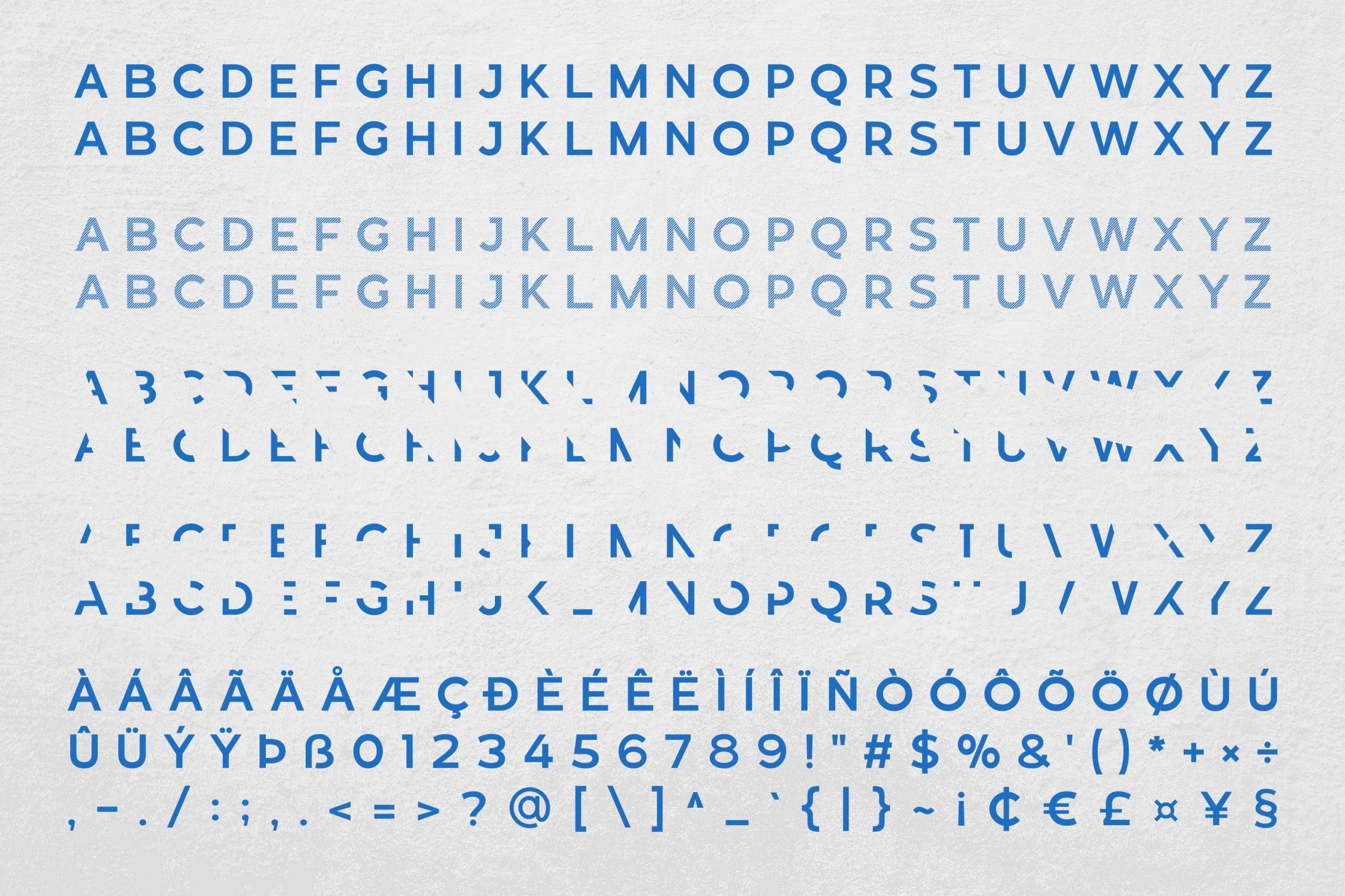 Revoxa Modern Display Typeface-3