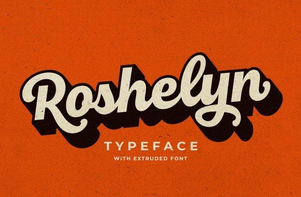 Roshelyn Bold Script Font-1