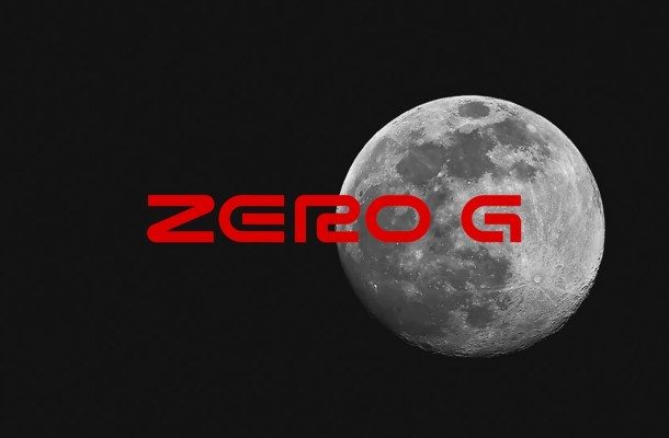 Zero G Display Font
