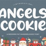 Angels Cookie Bold Script Font