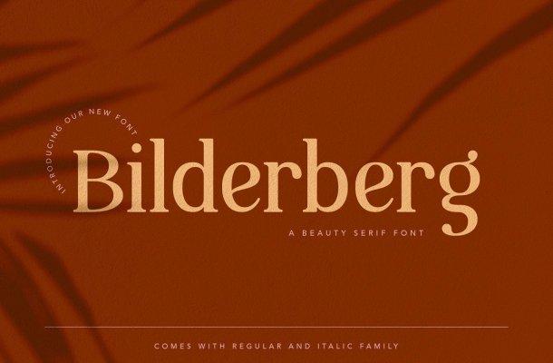 Bilderberg Beauty Serif Font
