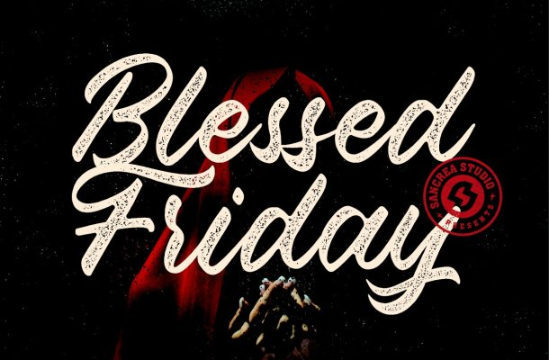 Blessed Friday Script Font