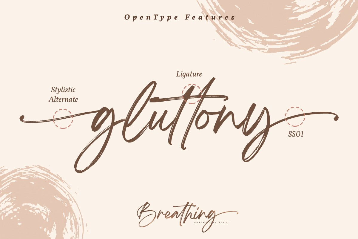 Breathing Signature Brush Font-2