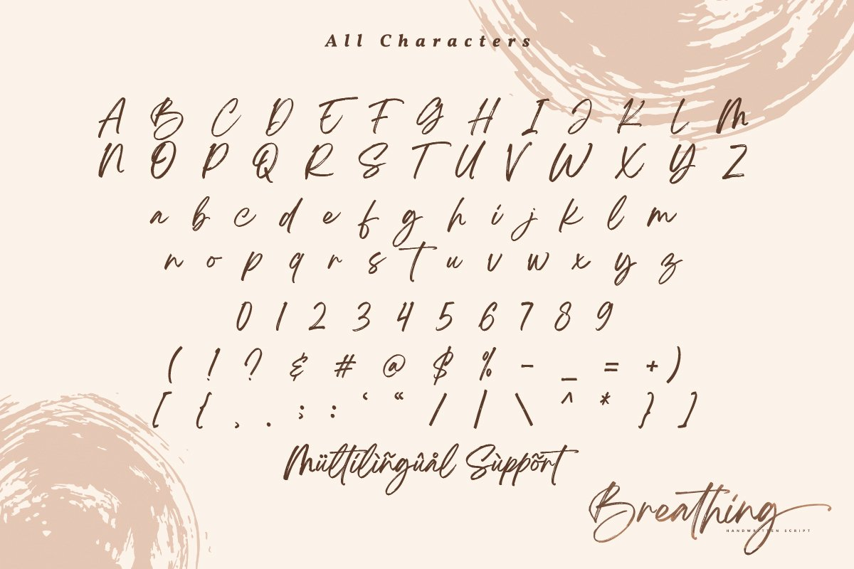 Breathing Signature Brush Font-3