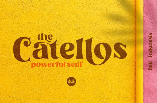 Catellos Powerful Serif Font