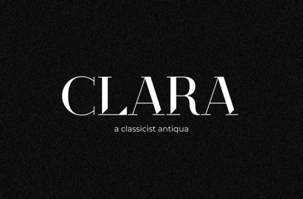 Clara Classicist Antiqua Serif Font