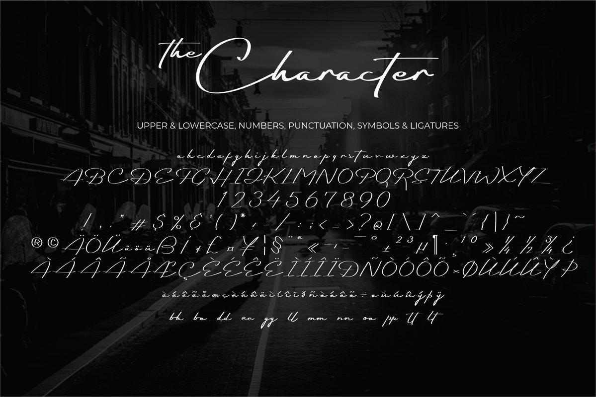Darkfather Handwritten Signature Font-3